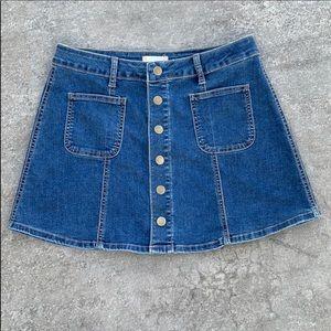 Altar'd State small denim skirt